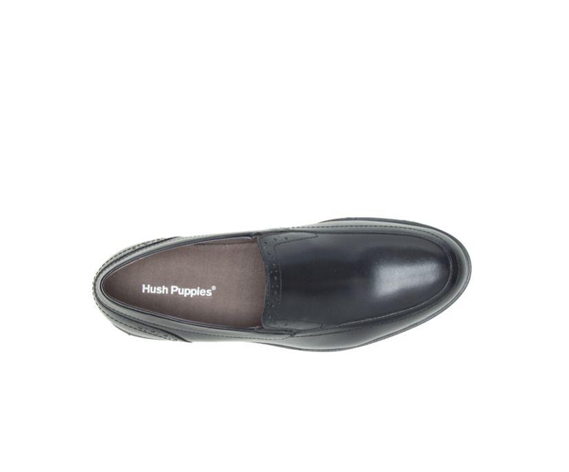 Shepsky Slip-On, Black Leather, dynamic