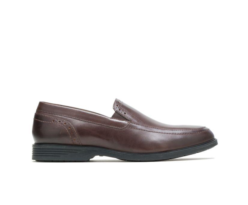 Shepsky Slip-On, Dark Brown Leather, dynamic