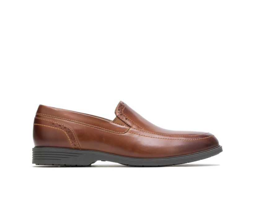 Shepsky Slip-On, Dark Tan Leather, dynamic