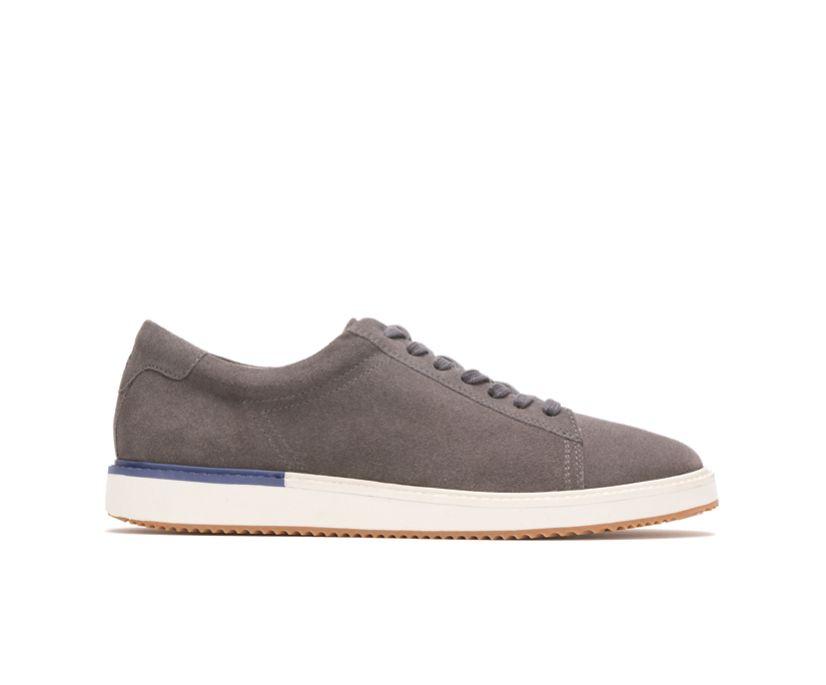 Heath Sneaker, Dark Grey Suede, dynamic