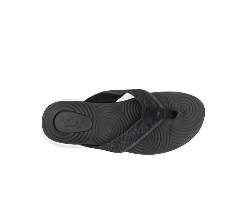 Wyatt Knit Toepost, Black Knit, dynamic