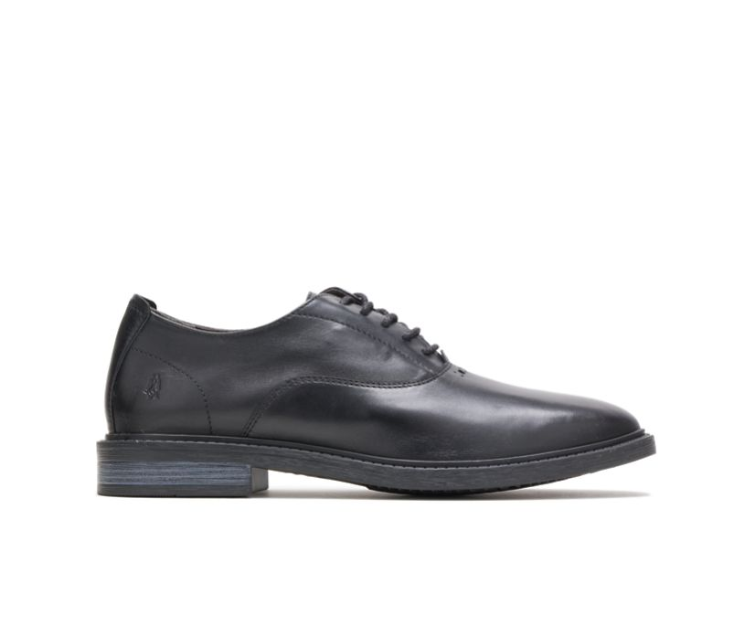 Davis Oxford Perfect Fit, Black Leather, dynamic