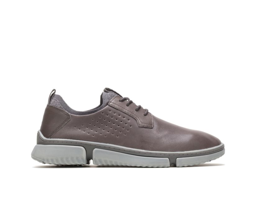 Bennet Plain Toe Oxford, Dark Grey Leather, dynamic