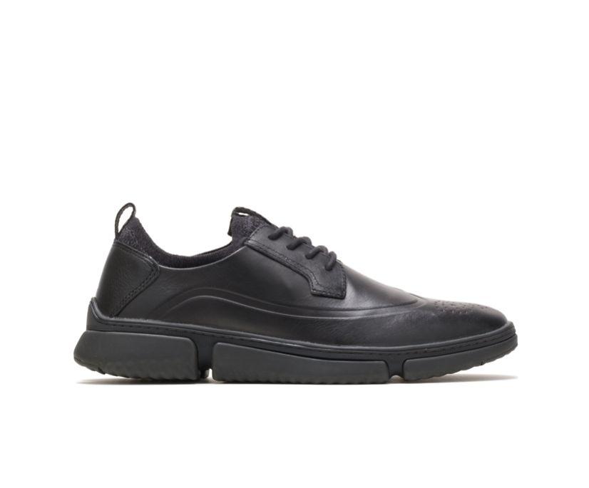 Bennet Wingtip Oxford, Black Leather, dynamic