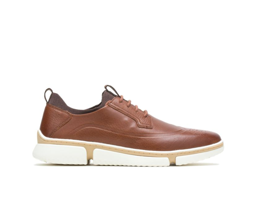Bennet Wingtip Oxford, Cognac Leather, dynamic