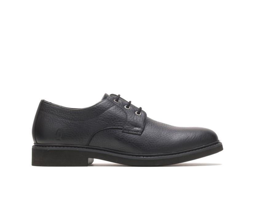 Detroit Plain Toe Oxford, Black Leather, dynamic