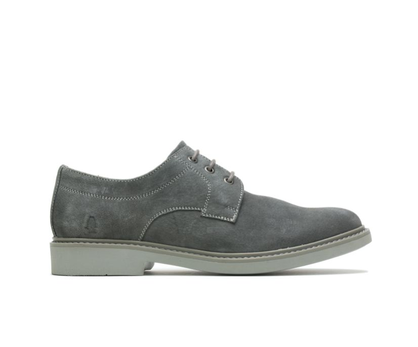 Detroit Plain Toe Oxford, Dark Grey Suede, dynamic