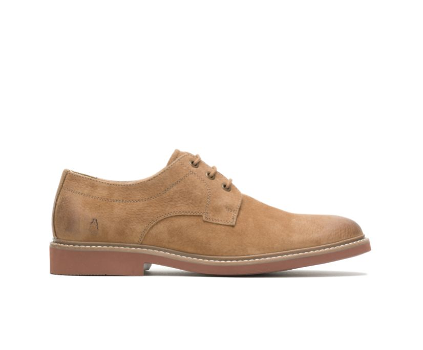 Detroit Plain Toe Oxford, Chestnut Suede, dynamic