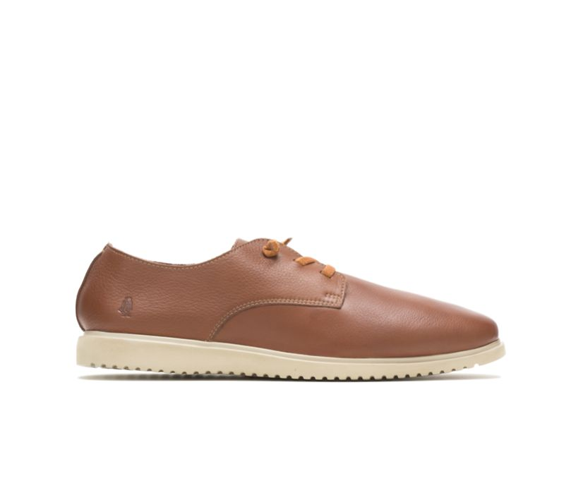 Everyday Lace Up, Cognac Leather, dynamic