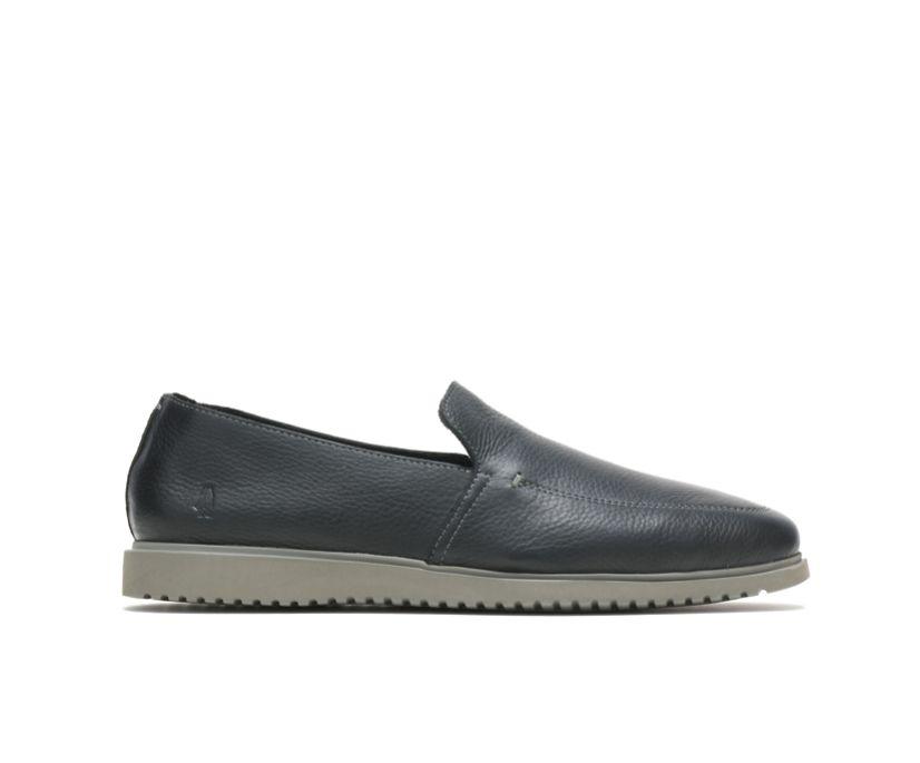 Everyday Slip-On, Black Leather, dynamic