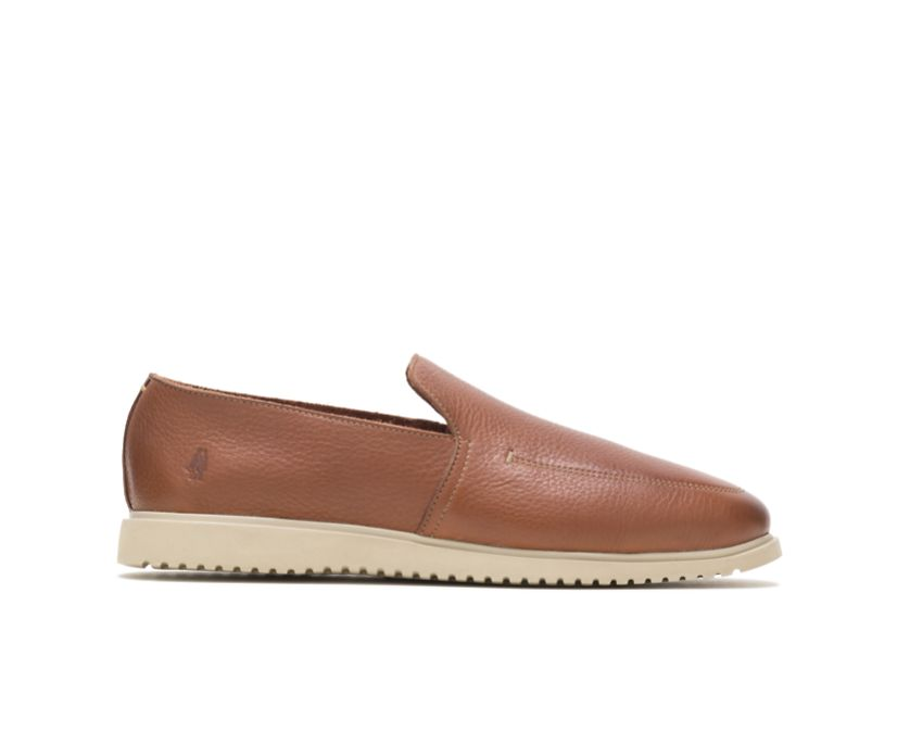Everyday Slip-On, Cognac Leather, dynamic