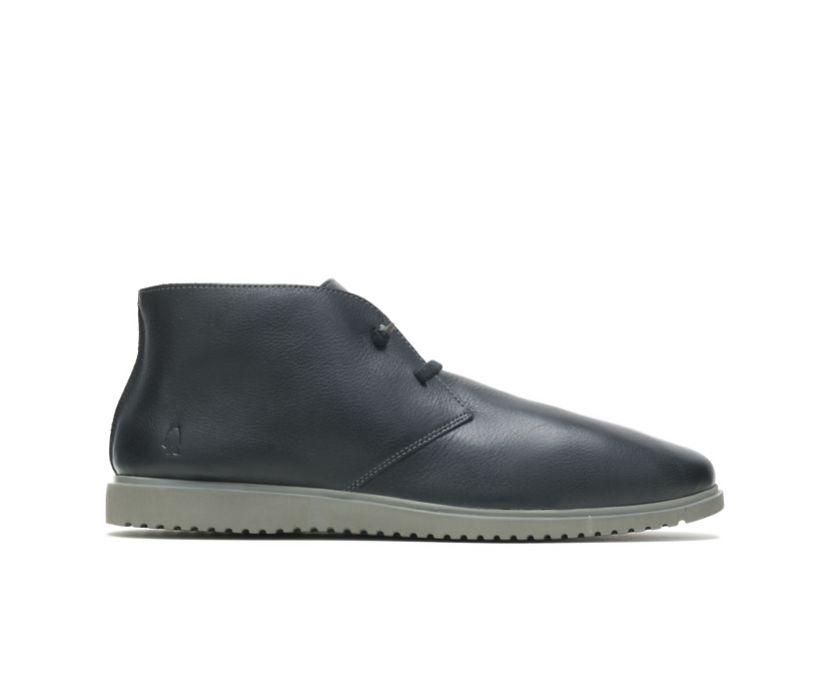 Everyday Chukka, Black Leather, dynamic