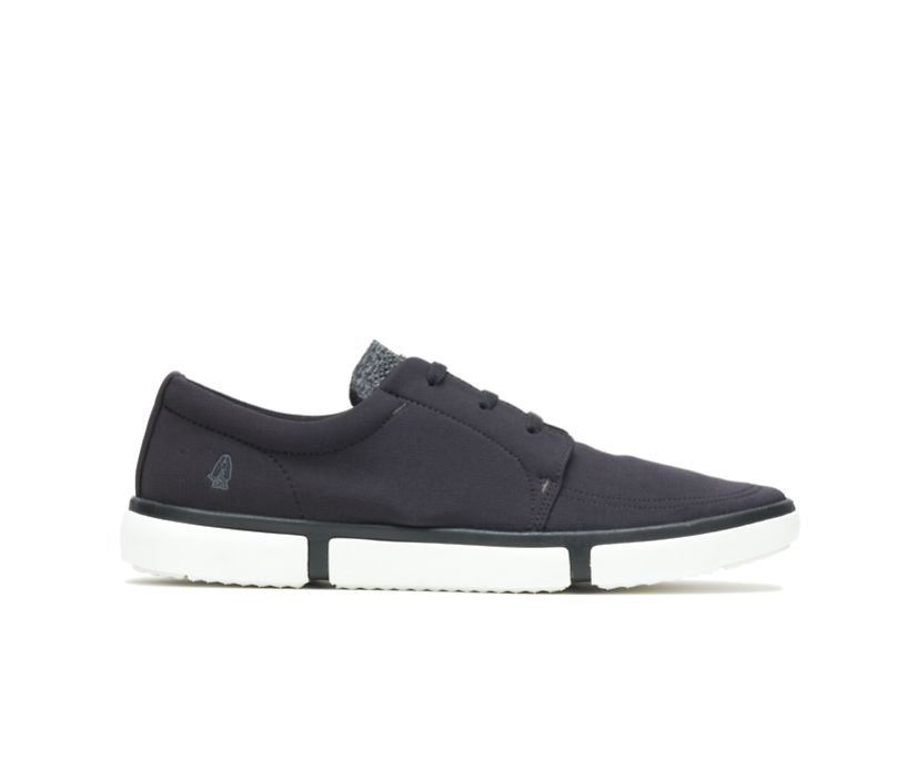 Briggs Plain Toe Oxford, Black Textile, dynamic