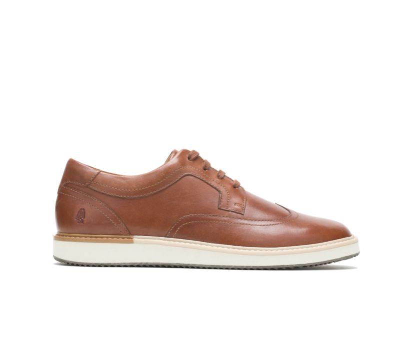 Heath Wingtip Oxford, Cognac Leather, dynamic
