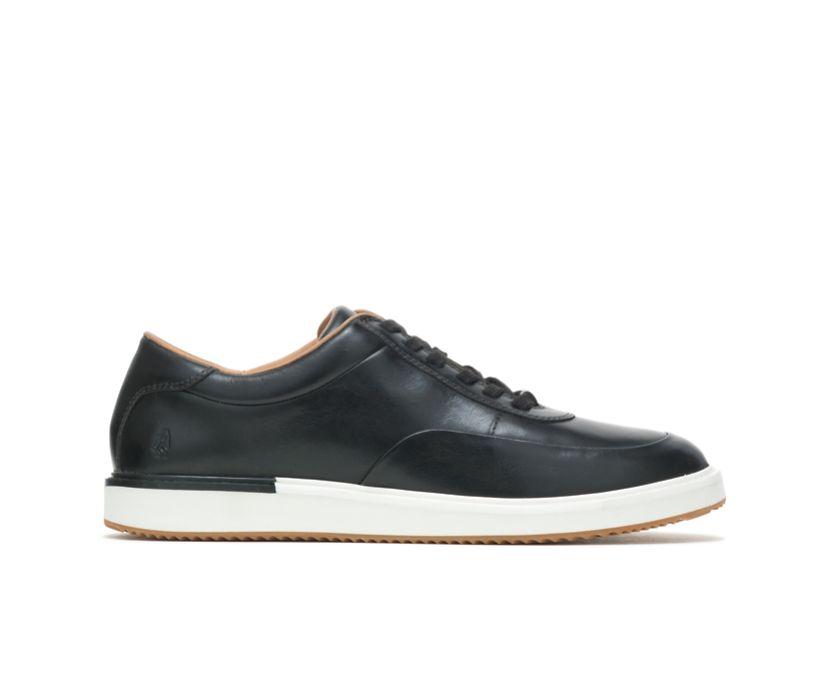 Keaton Sneaker, Black Leather, dynamic