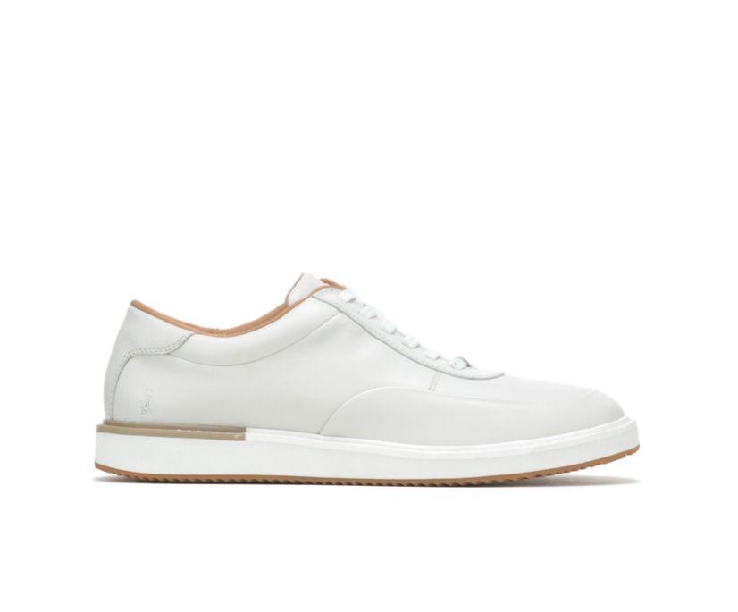 Keaton Sneaker, White Leather, dynamic