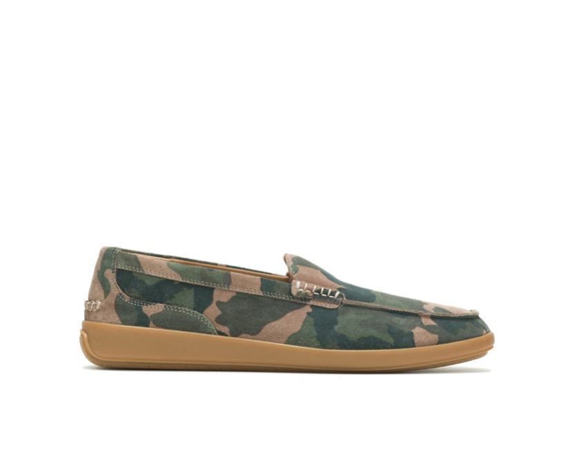 Finley Loafer, Camo Suede, dynamic