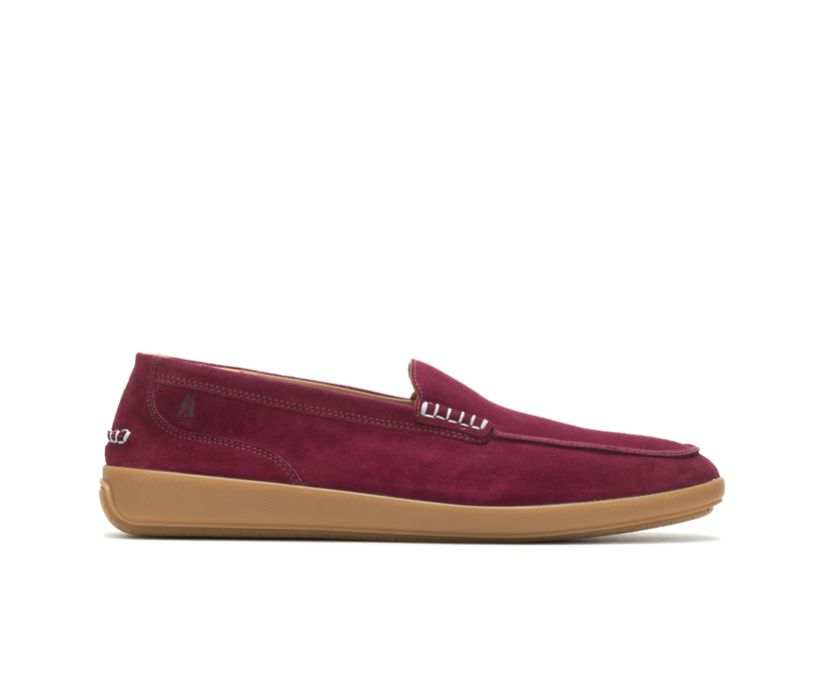 Finley Loafer, Wine Suede, dynamic