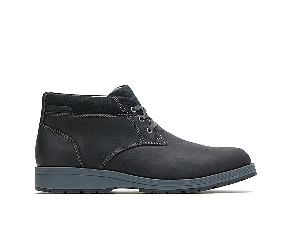 Beauceron Short Ice+, Black Waterproof Leather, dynamic