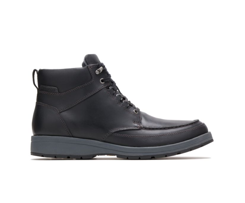Beauceron Tall Ice+, Black Waterproof Leather, dynamic