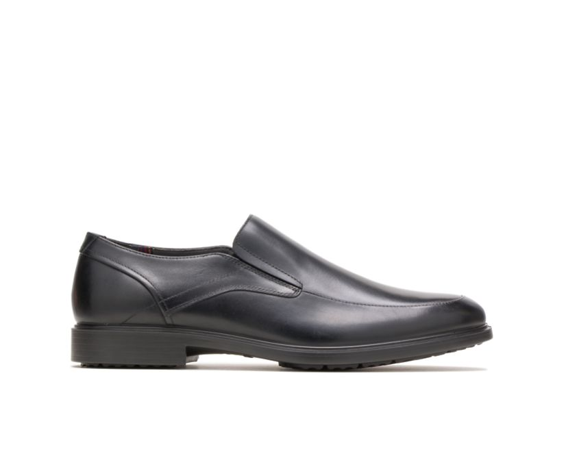 Turner MT Slip-On, Black WP Leather, dynamic