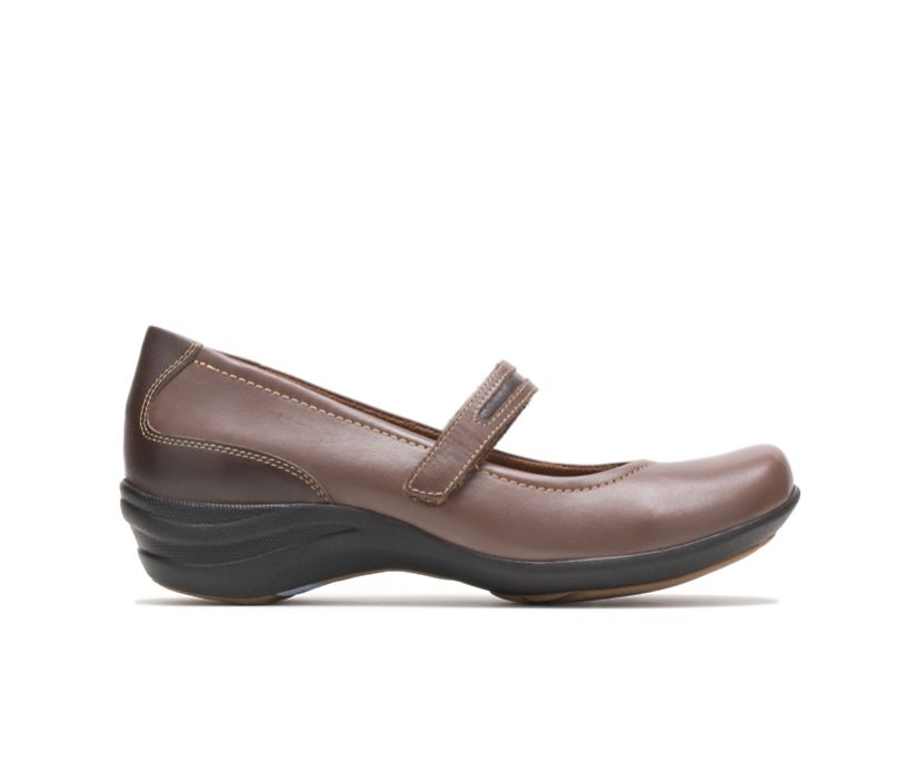 Epic Mary Jane, Dark Brown Leather, dynamic