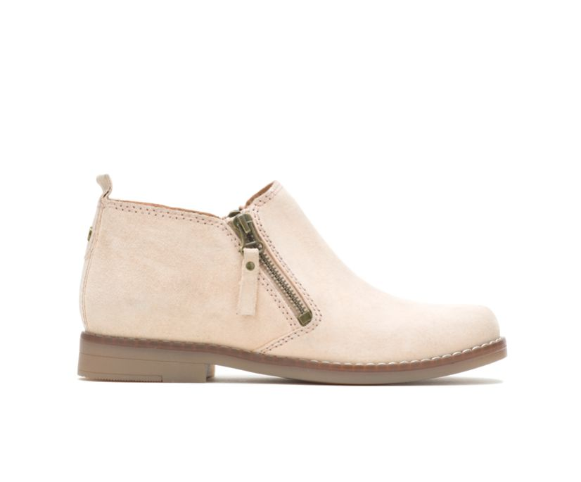Mazin Cayto, Light Taupe Suede, dynamic
