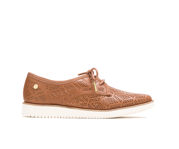 Chowchow Perf Lace, Tan Leather, dynamic