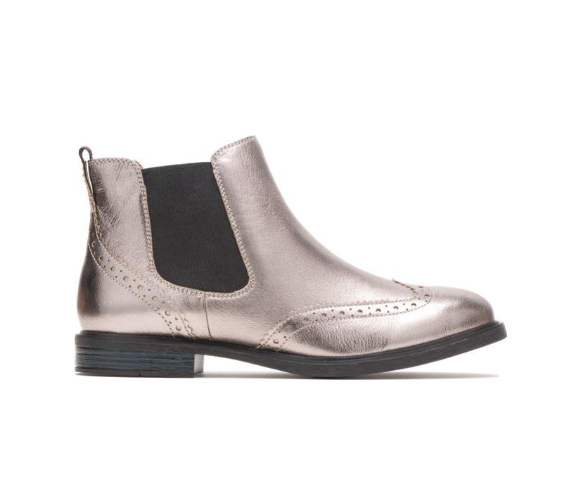 Bailey Chelsea Boot, Gunmetal Metallic Leather, dynamic