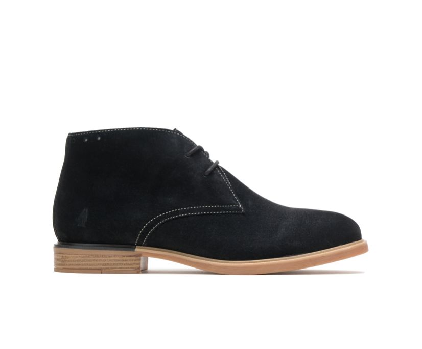 Bailey Chukka Boot, Black Suede, dynamic