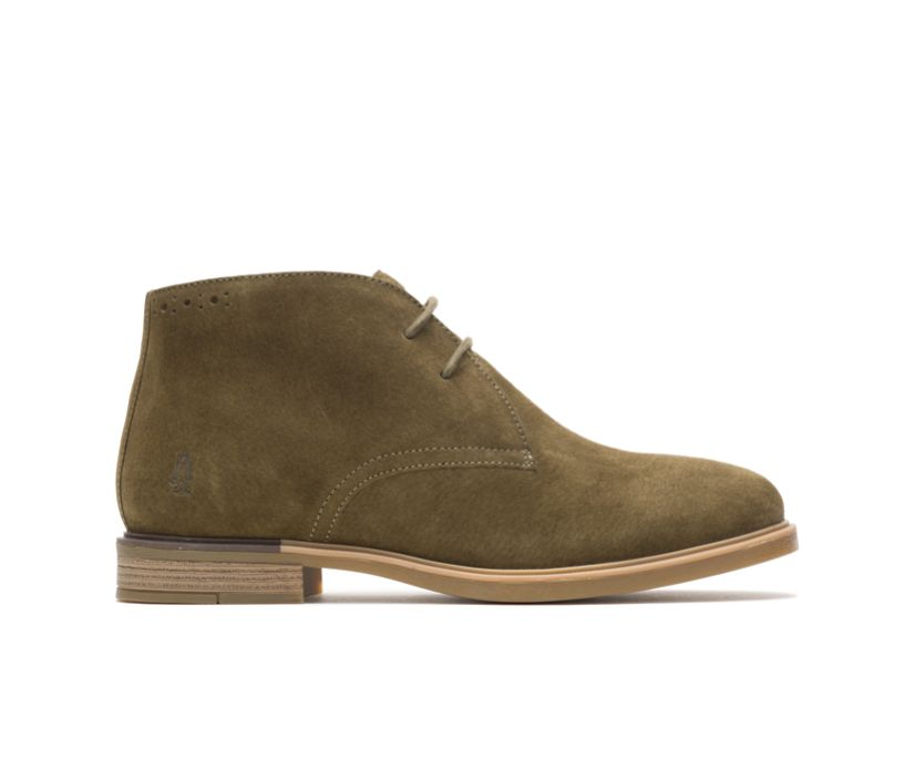 Bailey Chukka Boot, Olive Suede, dynamic