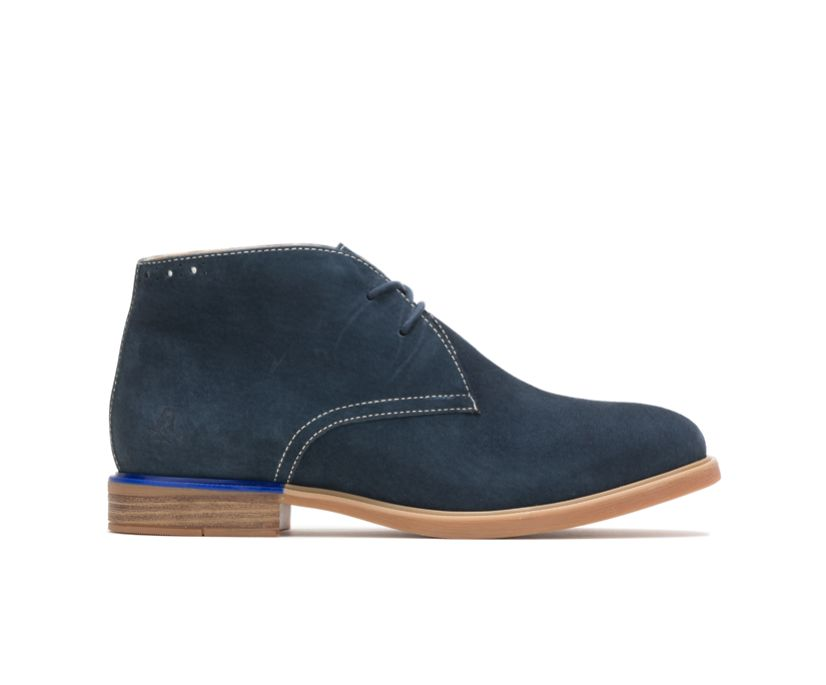 Bailey Chukka Boot, Navy Suede, dynamic