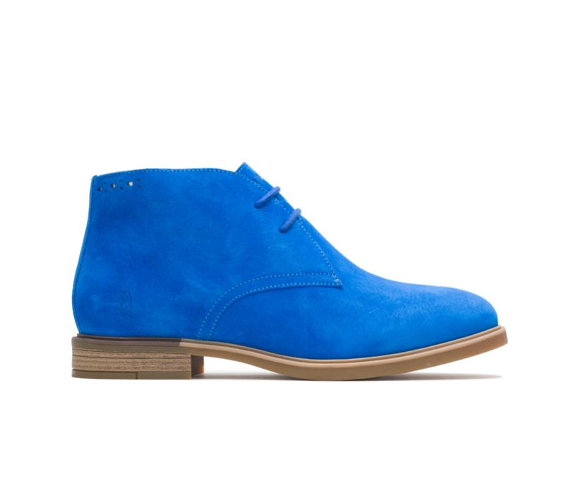 Bailey Chukka Boot, Electric Blue Suede, dynamic