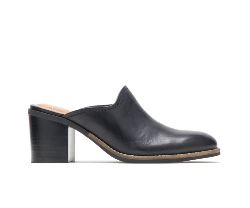 Hannah Mule, Black Leather, dynamic