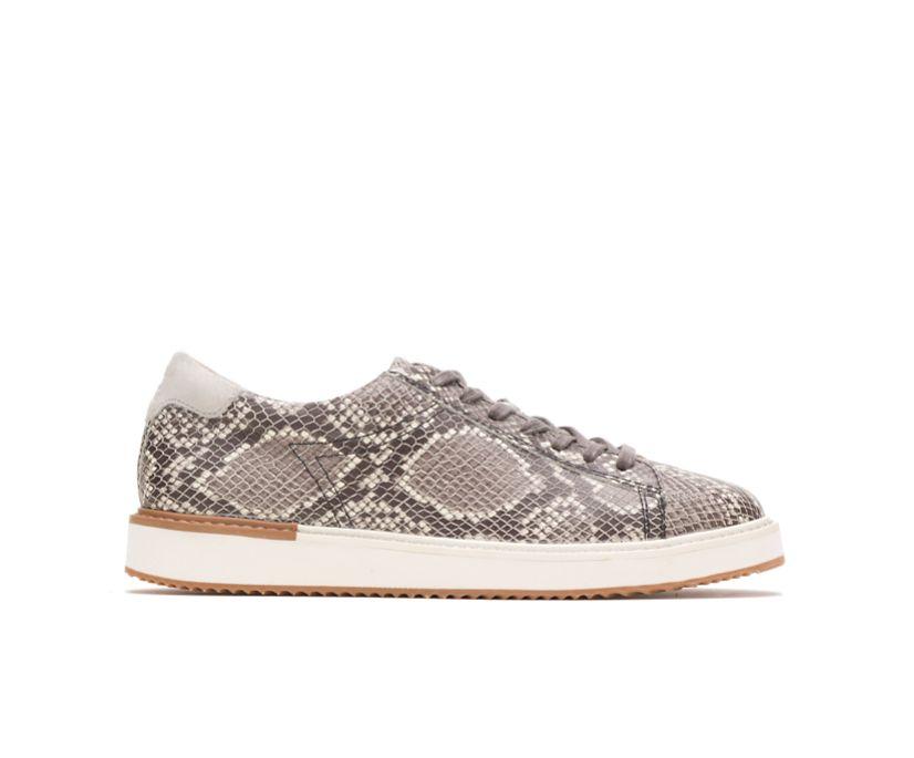 Sabine Sneaker, Natural Snake Leather, dynamic