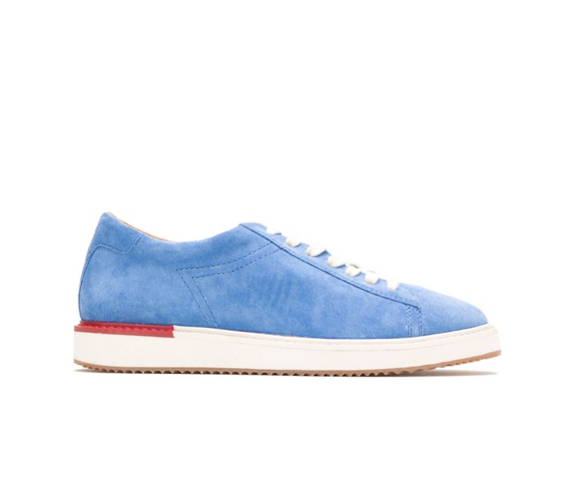 Sabine Sneaker, Sky Blue Suede, dynamic