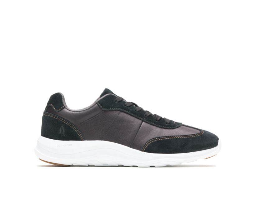 Cassidy Sneaker, Black Suede/Leather, dynamic