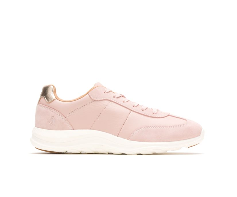 Cassidy Sneaker, Pale Rose Suede/Leather, dynamic