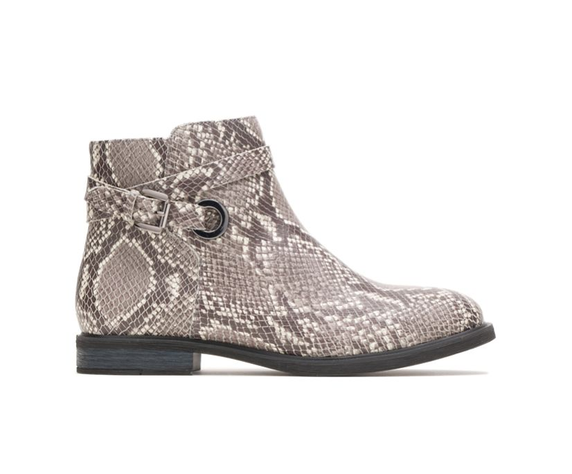 Bailey Strap Boot, Natural Snake Leather, dynamic