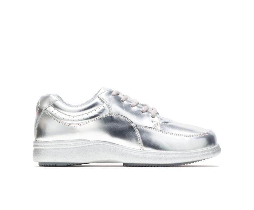 Power Walker, Silver Metallic Leather, dynamic