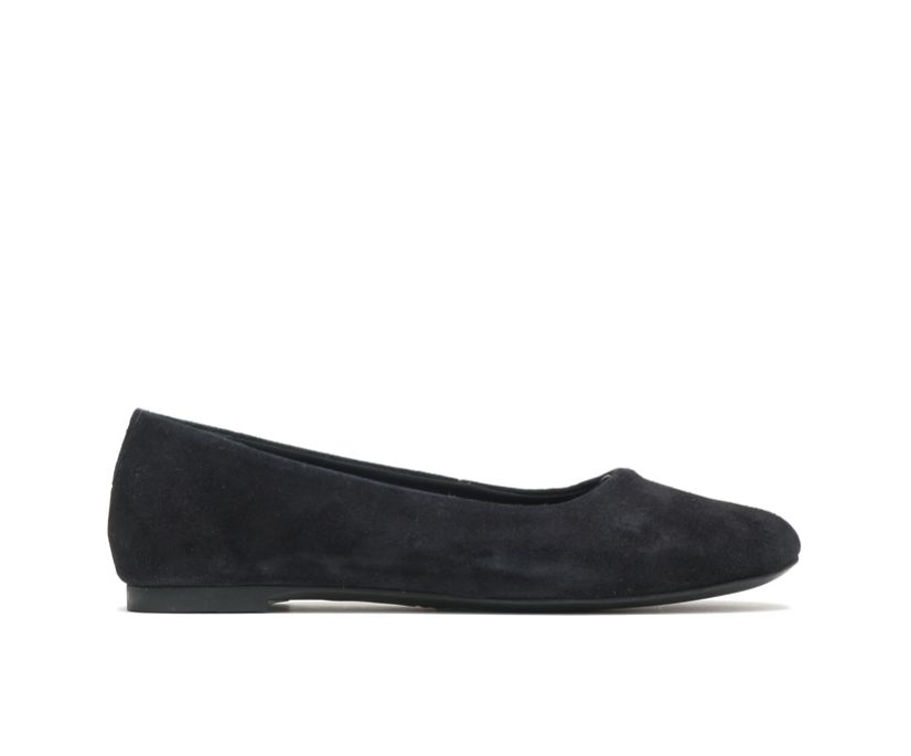 Kendal Ballet Perfect Fit, Black Suede, dynamic