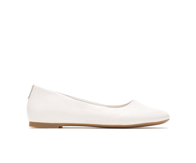 Kendal Ballet Perfect Fit, Ivory Leather, dynamic