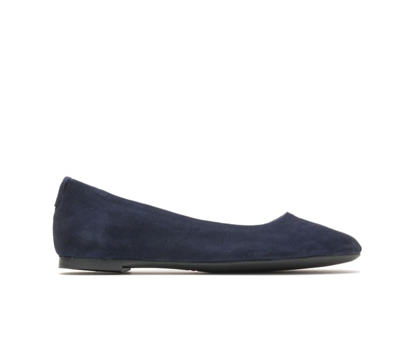 Kendal Ballet Perfect Fit, Navy Suede, dynamic