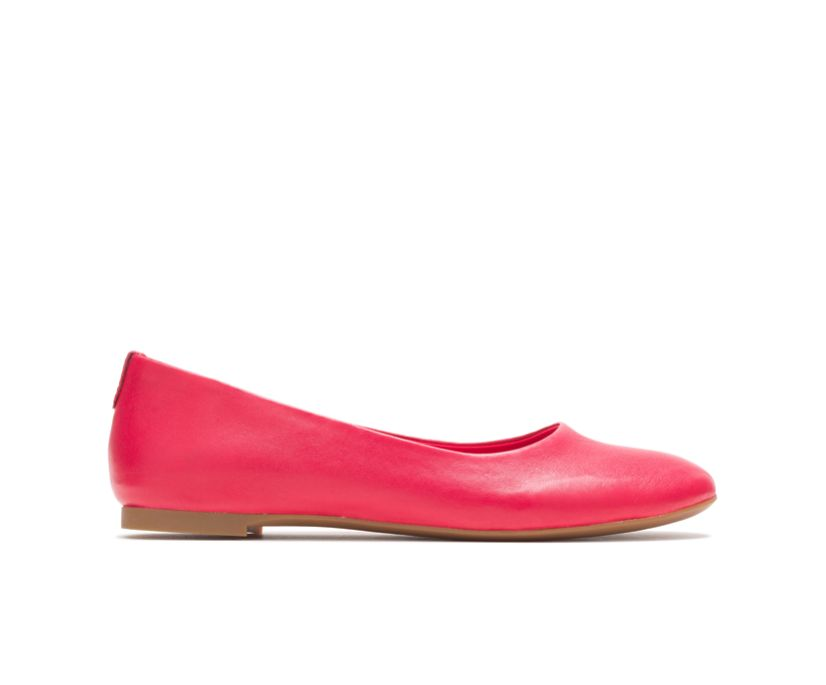 Kendal Ballet Perfect Fit, Fire Red Leather, dynamic