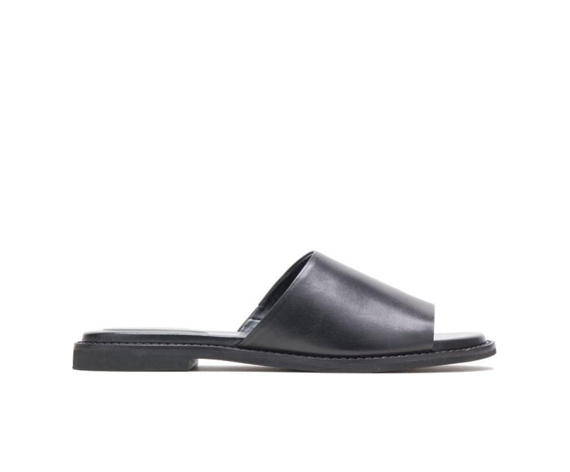 Lexi Slide, Black Leather, dynamic