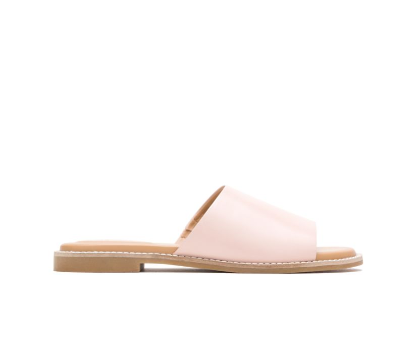 Lexi Slide, Pale Rose Leather, dynamic