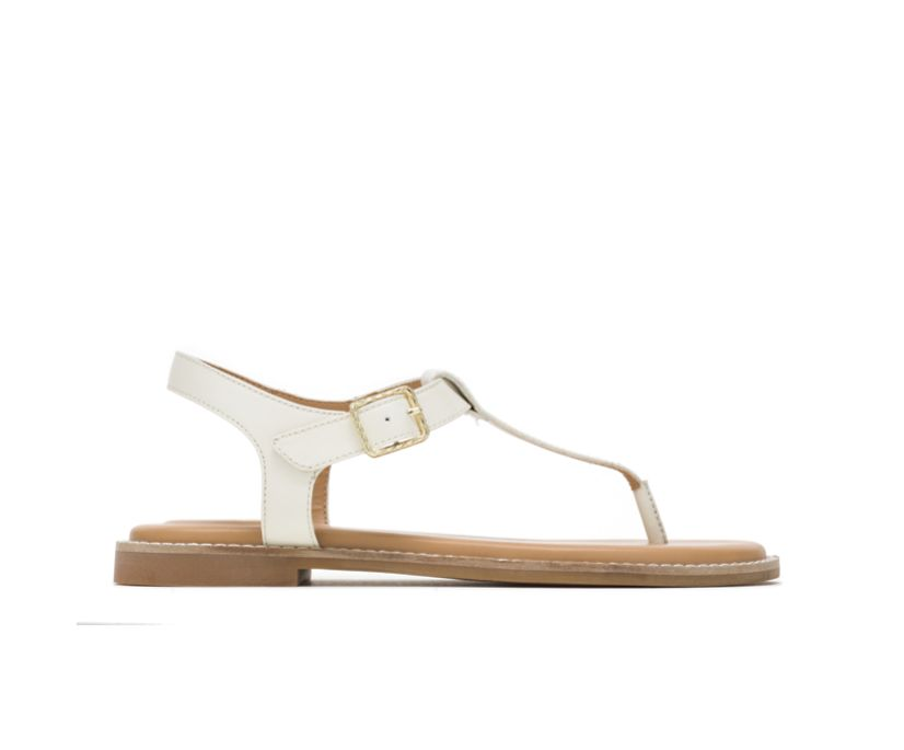 Lexi Toepost, Ivory Leather, dynamic
