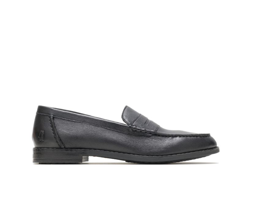Wren Loafer Perfect Fit, Black Leather, dynamic