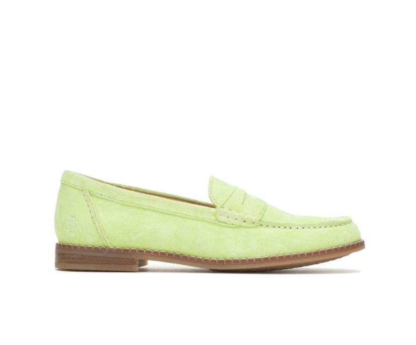 Wren Loafer, Lime Suede, dynamic