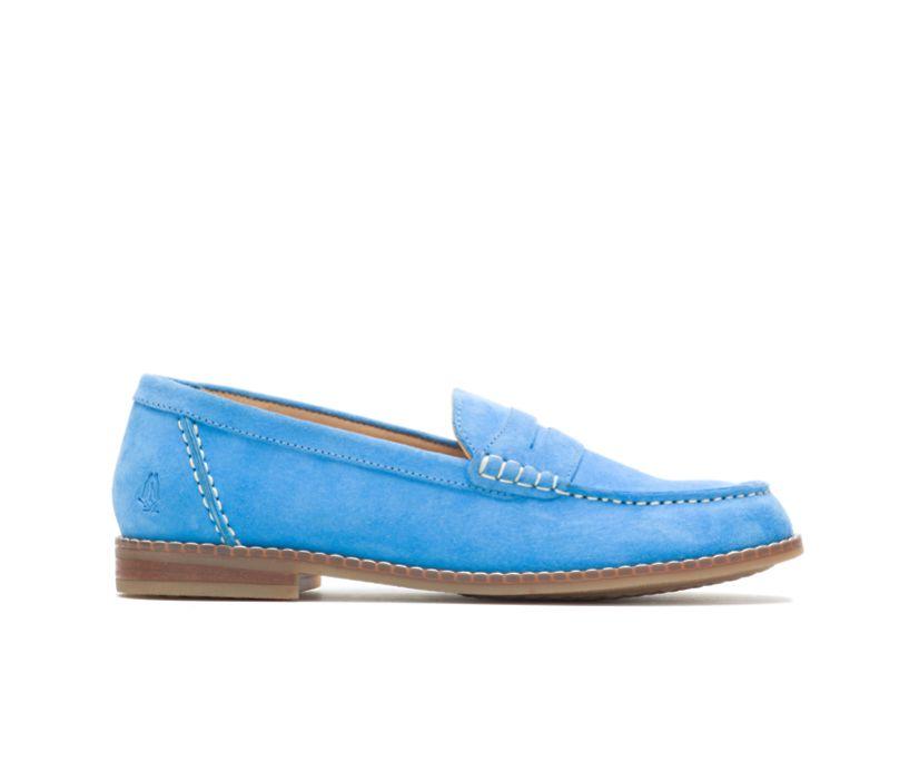 Wren Loafer, Bright Blue Suede, dynamic